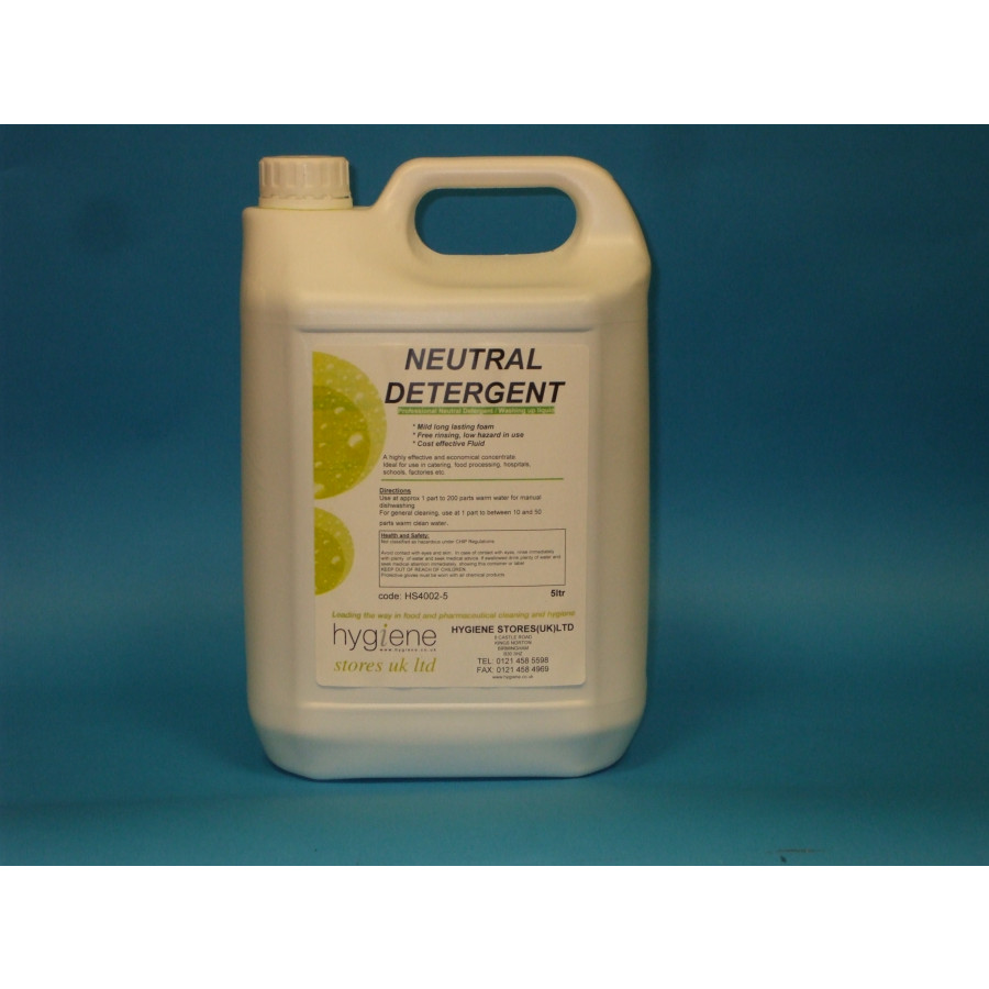 Neutral Detergent Industrial Range Chemicals