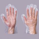 Polythene glove