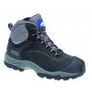 Black nubuck fully waterproof boot