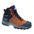 Brown nubuck fully waterproof boot