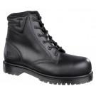 Icon black metal free 4 eyelet boot
