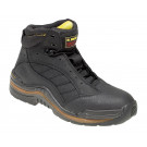Grip-trax black oiled nubuck safety boot