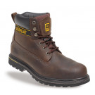 Holton brown leather boot