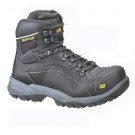 """Diagnostic wide fit black heavy duty 6"""" boot"""
