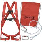 Fall arrester safety kit